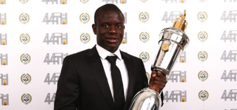 N'Golo Kante z nagrodą PFA Player of the Year 2017