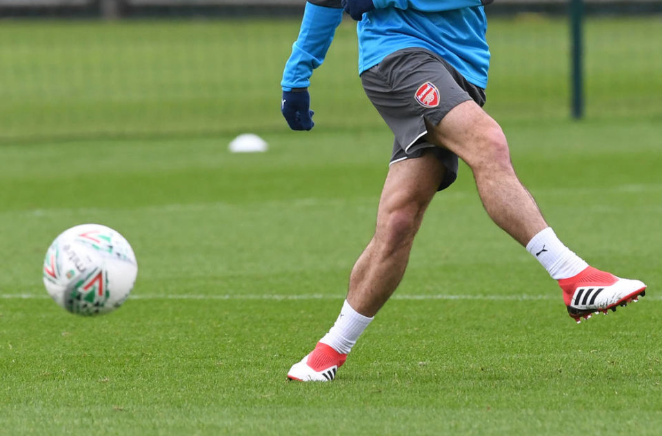 Boot spotting: pierwszy trening Mkhitaryana w Arsenalu